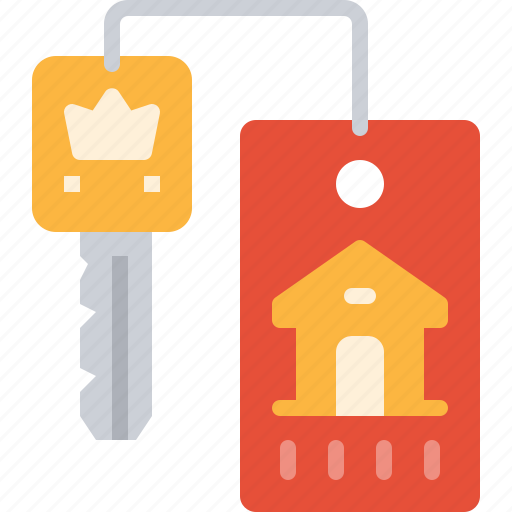 card, door, home, house, key, security icon