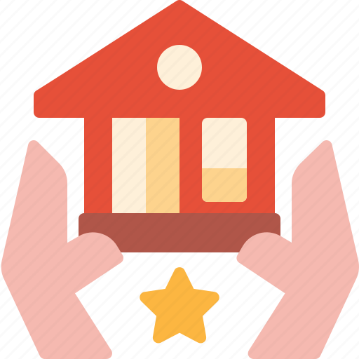 estate, guard, home, property, protect, real, safe icon