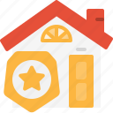 estate, guard, property, protect, real, safe, security icon