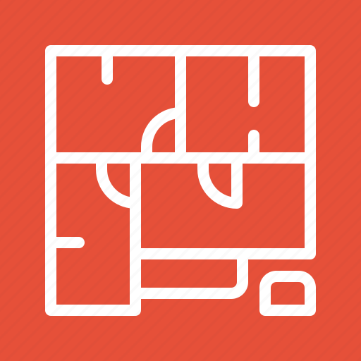 building, estate, house, plan, property, real icon
