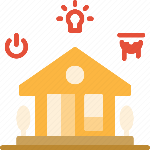 building, estate, home, online, real, smart icon