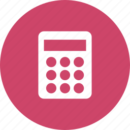 accounting, calculate, calculator, math, mathematics icon