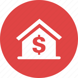 costs, estate, home, house, mortgage, price, residence icon