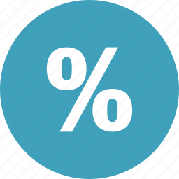 discount, money, part, percent, percentage, shopping icon
