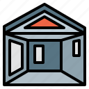 house, interior, planning, realestate, scheme icon