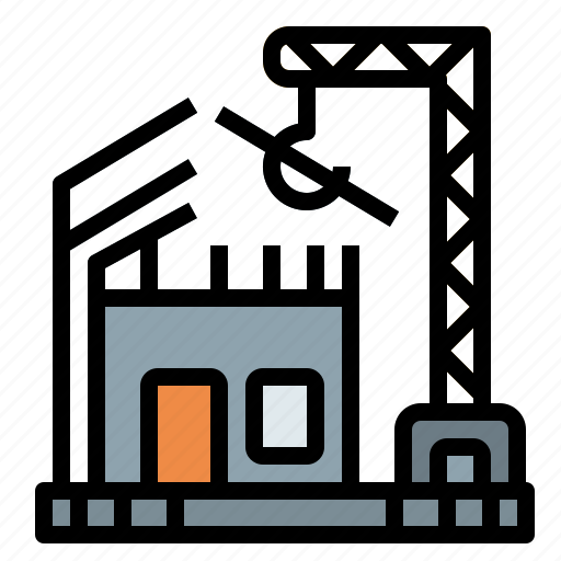 building, development, house, realestate, site icon