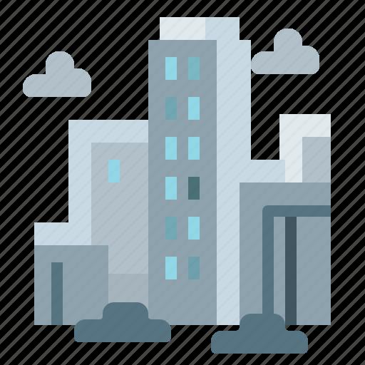 building, city, realestate, skyscraper, urban icon