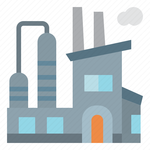 development, factory, industrial, industry, pollution icon