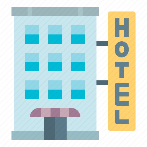 hotel, realestate, resort, trip, vacation icon