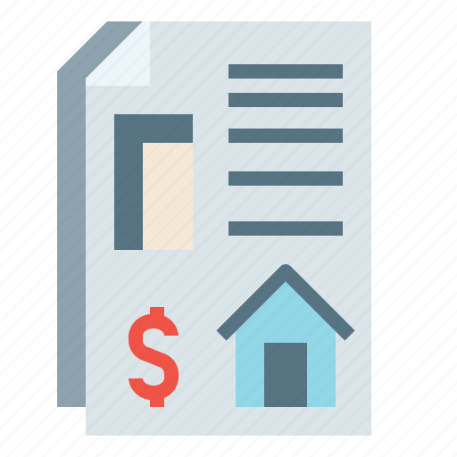 debt, homeloan, house, mortgage, realestate icon