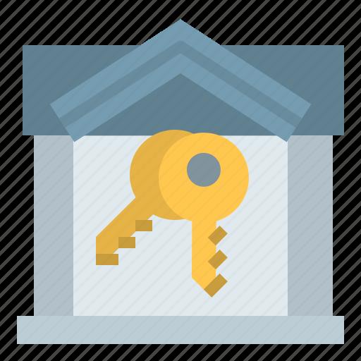 badge, house, ownership, realestate icon