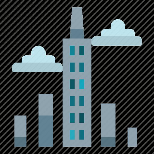 architecture, realestate, skyscrapers, town, urban icon