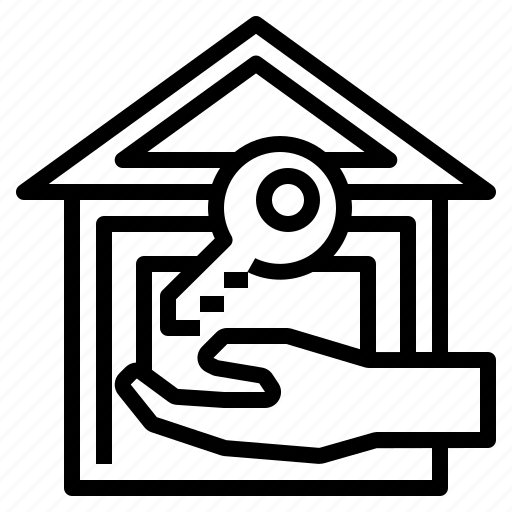 badge, commercial, house, owner, realestate icon