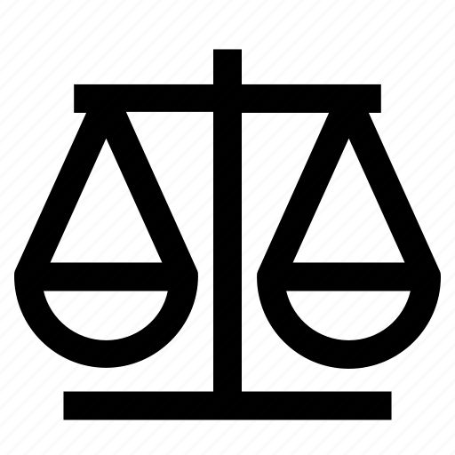 Balance, court, justice, law, scale icon - Download on Iconfinder