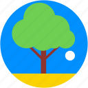 forest, garden, shrub tree, tree, yard tree icon