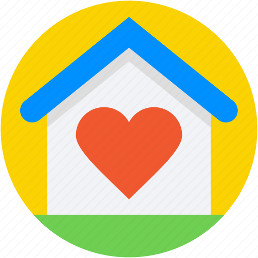 couple house, heart, home love, house, real estate icon
