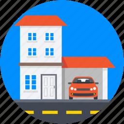 bangalore, car porch, family house, luxury house, palace icon