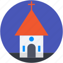 chapel, christians, church, religious, religious building icon
