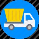 dumper, dumper truck, industrial vehicle, plant machinery, transport