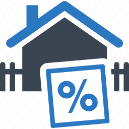 building, discount, financial, home, house, price, property, real estate, reduced, sale, sticker icon