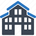 apartment, building, construction, hotel, property, real estate, residential, villa icon
