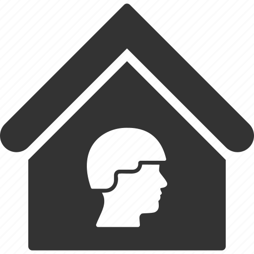 army, barracks, building, camp, house, military, real estate icon