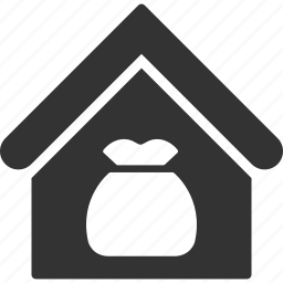 building, harvest, home, product, real estate, storage, warehouse icon