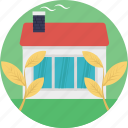 ecology, garden house, glasshouse, greenhouse, plant nursery icon