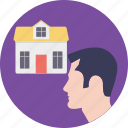 estate agent, homeowner, property advisor, property agent, property owner icon