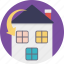 home relocation, home shifting, house mover, mover estate, moving house icon