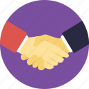 deal, friendship, handshake, partnership, respect icon
