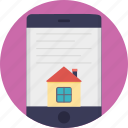 estate marketing, online mortgage, online property, online real estate, real estate app icon