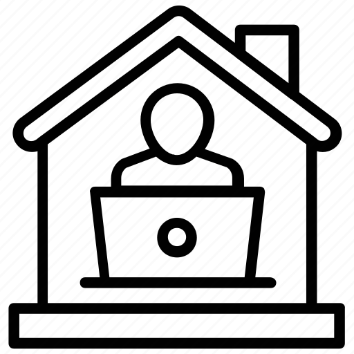 family house, home, home person, residence, residential building icon