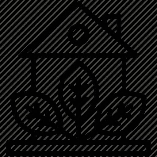 eco house, ecology, glasshouse, greenhouse, plant nursery icon