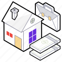 home, house, real estate, residence, residential building icon