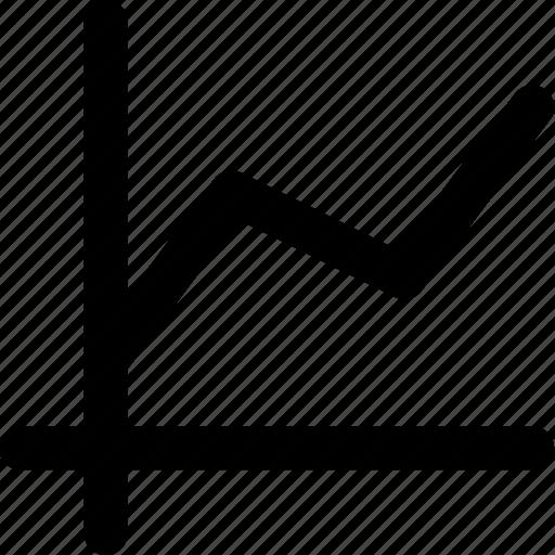 analytics, brokerage, chart icon