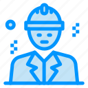 avatar, building, business, construction icon