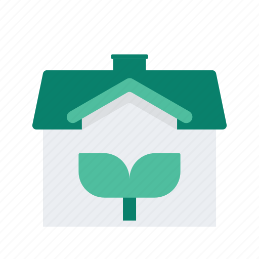 ecology, estate, house, property, real icon