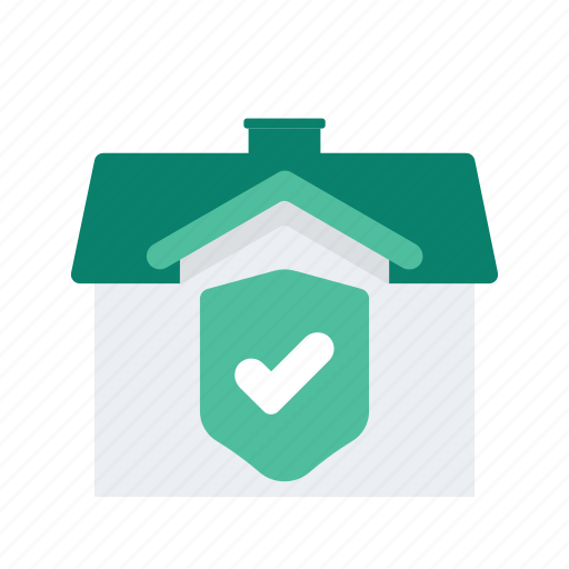 estate, house, property, protection, real, security icon