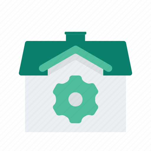 estate, options, preference, property, real, settings icon
