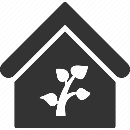 building, bungalow, farm, greenhouse, home, house, real estate icon