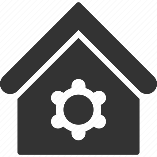 building, home, house, industrial, real estate, repair, service icon