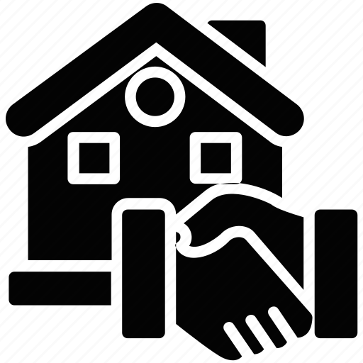 house accord, housing partnership, mortgage, property agreement, property deal icon
