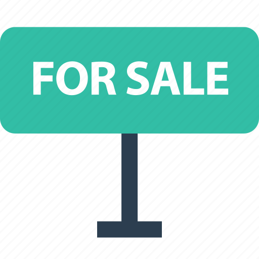 estate, for, home, real, sale, shopping, sign icon