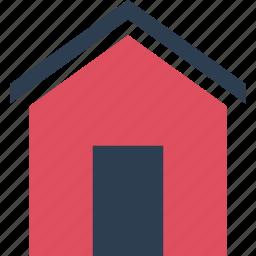 door, entrance, estate, home, house, real, shopping icon