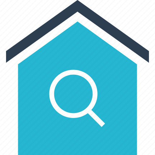 estate, find, home, house, real, search, shopping icon