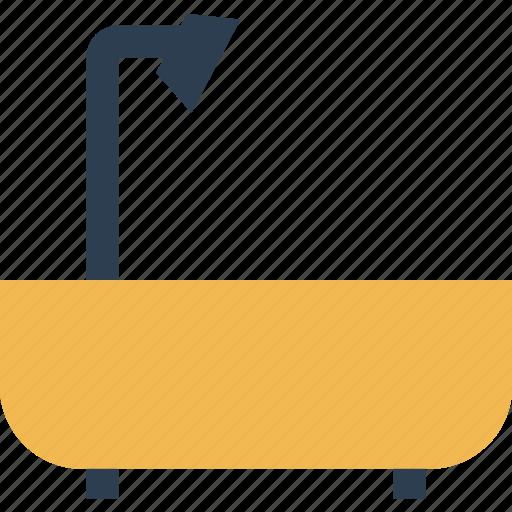 bath, estate, home, real, shopping, shower, tub icon