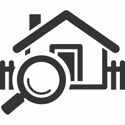 find home, real estate, search home icon
