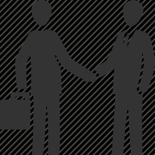 broker, business deal, handshake, partnership icon