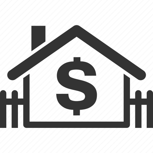 finance, home price, house, sale home icon